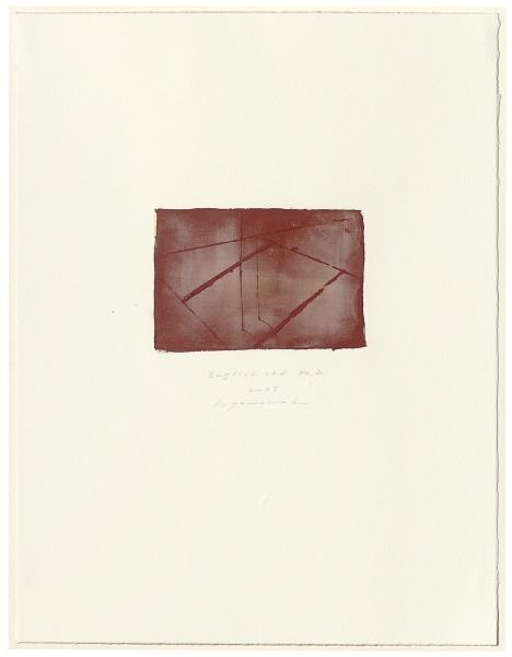 Hideaki Yamanobe, #015072 English red No. 2, 2005