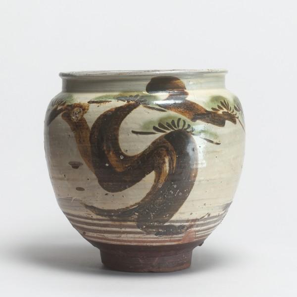 Mingei, #003567 Mizu-game - Wassertopf, Ende Edo (1600-1868)