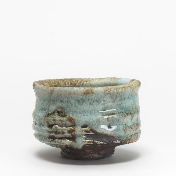 "Kurouemon Kumano, (#017728) chawan (Tea bowl) ""Kumotori"" (a place in the Wakayama Prefecture)"