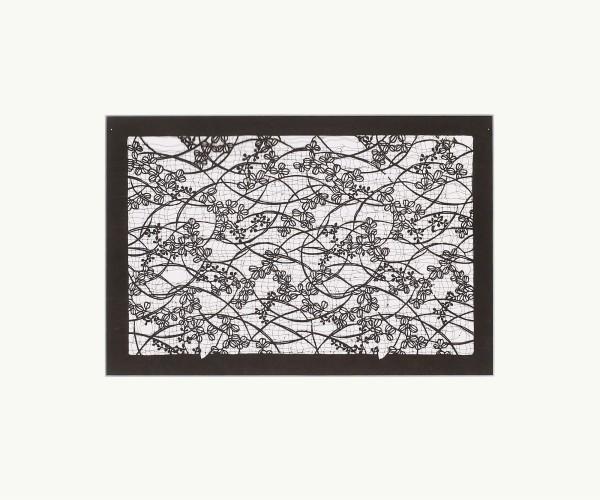 Mingei, #010854 Katagami (Textilfärbeschablone), Japan, Späte Edo-Zeit / Meiji-Zeit (2. H. 19. Jh. / Anfang 20. Jh.)