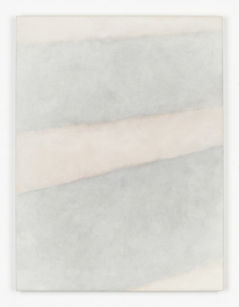 Heechang Yoon #021852 Kamogawa River #1333, 2018 Fired sand from Kamogawa river, Ceramic powder and Acrylic medium on panel H80.3 x W60 x D3.1 cm