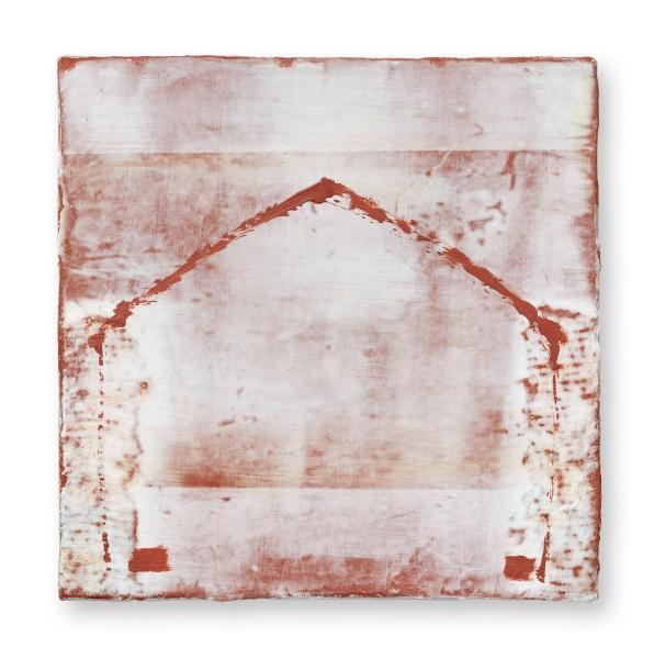 Hideaki Yamanobe #022219 Square Garden 2020-1, 2020 Acryl auf Holz 24,2 x 24,2 x 5 cm