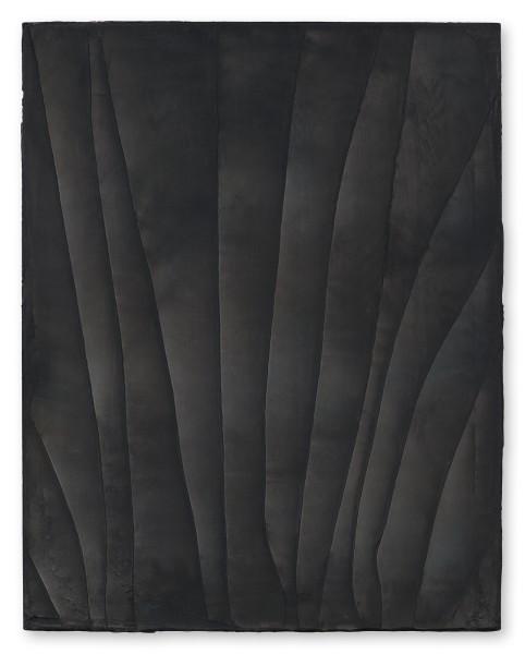 Hideaki Yamanobe, #021856 Black Screen, Scratch 2018-6, 2018