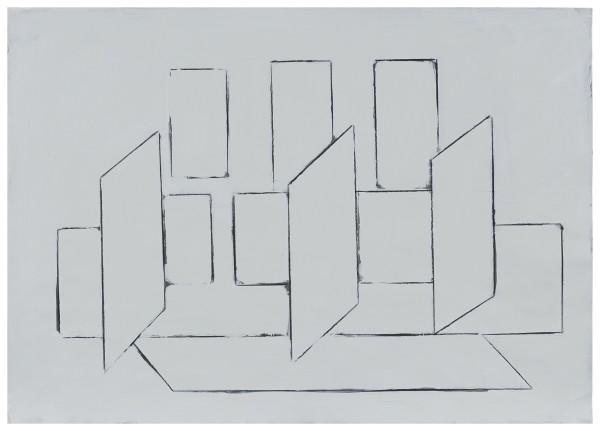 Jürgen Schön, #021705 Zeichnung, 2017