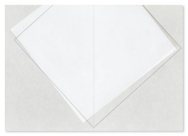 Koichi Nasu #010562 und #010563 30.9.2000 A+B, 2000 Aquarell auf Papier auf Aluminiumplatte 2-teilig (je 59,4 x 42,2 cm)