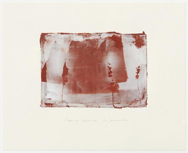 Hideaki Yamanobe #022227 Drawing 2020-12, 2020 Acryl auf Papier Motiv: ca 18,5 x 26 cm; Blatt: 38 x 46,4 cm