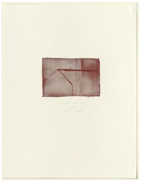 Hideaki Yamanobe, #015064 English red No. 14, 2005