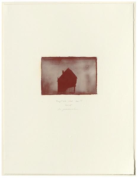Hideaki Yamanobe, #015067 English red No. 17, 2005