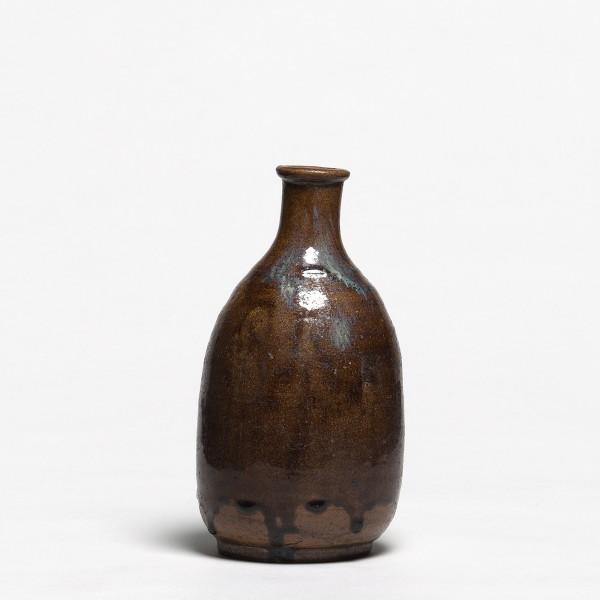 Keramik, #011590 Tokkuri - Sakeflasche, Seto, Ende Edo (1616-1868)