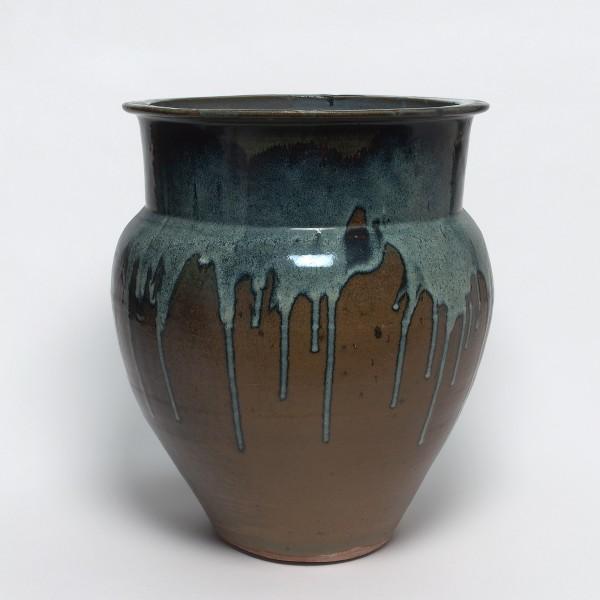 Keramik, #000631 Mizugame - Vorratstopf für Wasser, Meiji-Zeit (1868-1912)