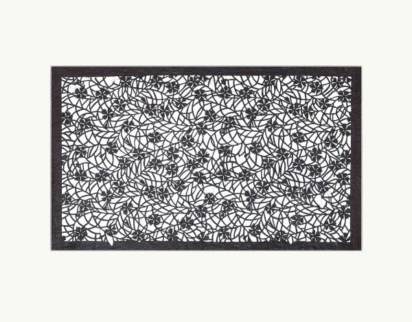 Katagami / Uwagami, #010896 Katagami (Textilfärbeschablone), Japan, Späte Edo-Zeit / Meiji-Zeit (2. H. 19. Jh. / Anfang 20. Jh.)