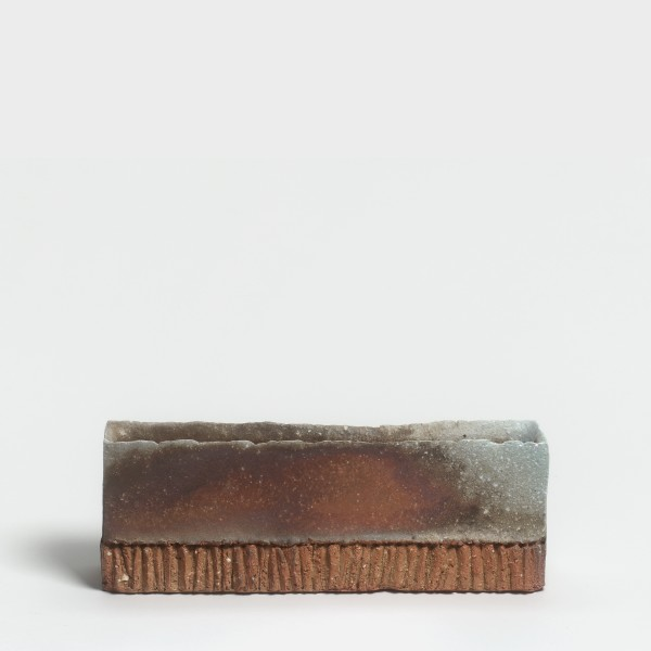 Yasuhisa Kohyama #021056 Danpen (Fragment), 2015 Steinzeug, Anagama-Brand 11 x 43 x 16 cm