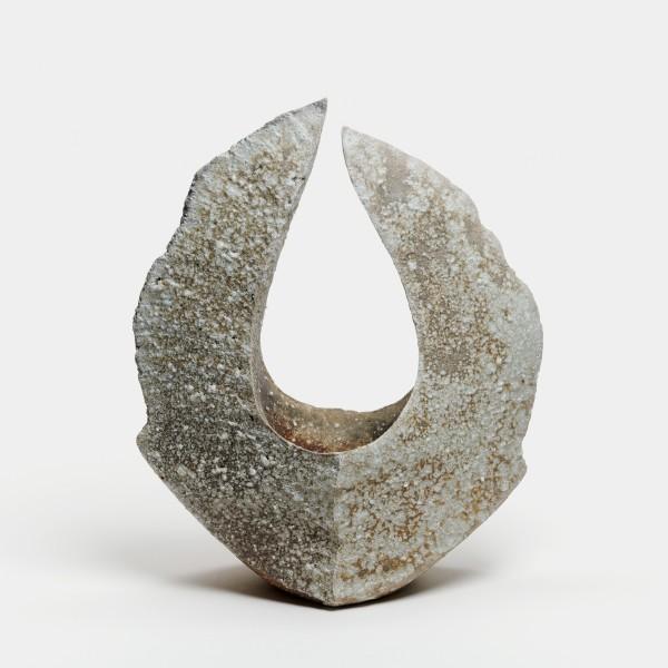 Yasuhisa Kohyama #022066 Homura (Flamme), Vase, 2018 Steinzeug, Anagama-Brand 33 x 21 x 15 cm