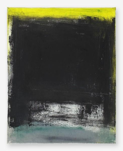 Monika Huber #020040 Untitled, 95/28, 1995 Oil on nettle 50 x 40 cm