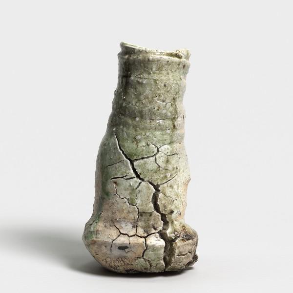 Shiro Tsujimura, #000708 Iga Hanaire (Vase), 1983