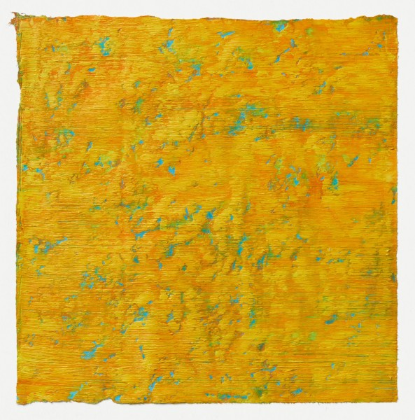 Yuko Sakurai #021587 Roma #4, 2015 Pastell und Öl auf japanischem Yokono-Papier 27,5 x 27 cm