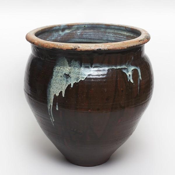 Keramik, #000198 Mizugame - Vorratstopf für Wasser, Ende Edo-Zeit (1615–1868) 19. Jh.