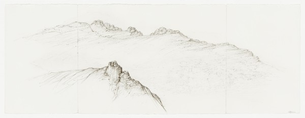 Raffi Kaiser, #021675 Landschaft, um 2017