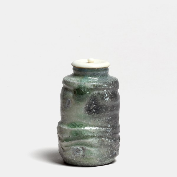 Kei Tanimoto, #019471 Tea caddy (chaire), Iga-Type, 2011