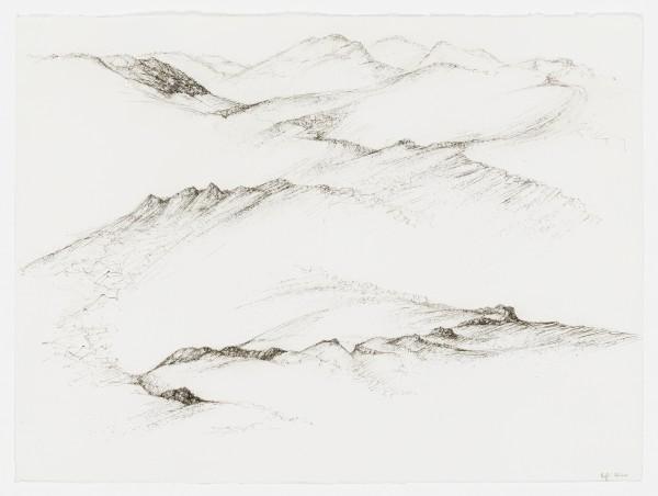 Raffi Kaiser, #021663 Landschaft, um 2017