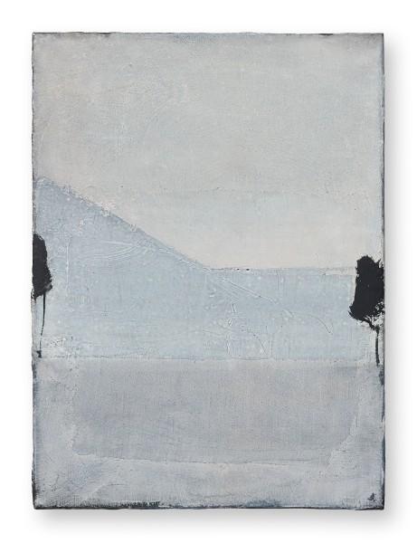 Hideaki Yamanobe #022210 Front of the Facade, 2020 Acryl auf Nessel 55 x 40,5 x 4 cm