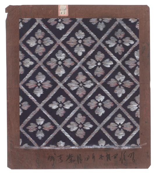 Katagami / Uwagami, #016445 Uwagami (Entwurfsschablone), Japan, 1912, Meiji-Zeit (1868-1912), April 1912 (Meiji 45)