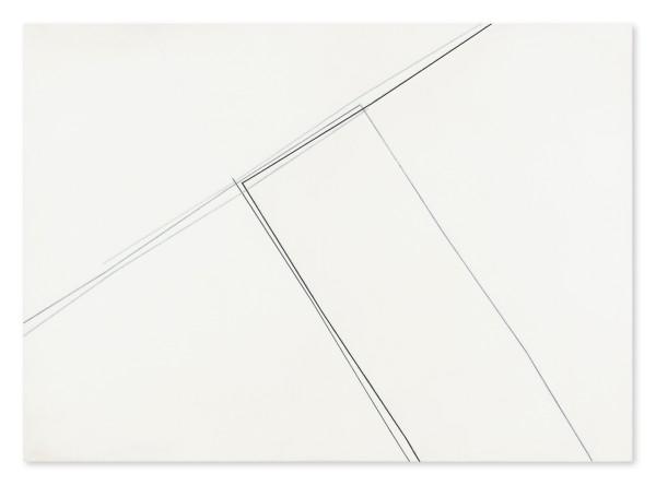 Koichi Nasu #013527 31.3.1984 , 1984 Acryl und Graphit auf Papier auf Leinwand 105 x 145 cm