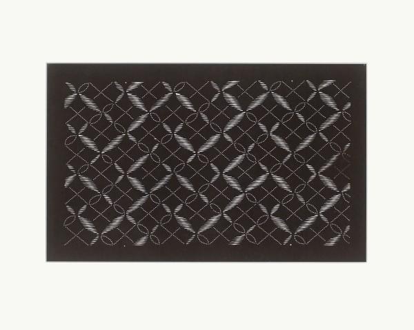 Katagami / Uwagami, #016908 Katagami (Textilfärbeschablone), Japan, Späte Edo-Zeit / Meiji-Zeit (2. H. 19. Jh. / Anfang 20. Jh.)