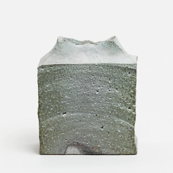 Yasuhisa Kohyama #022071 Danpen (Fragment), Vase, 2016 Steinzeug, Anagama-Brand 26 x 22,5 x 10 cm