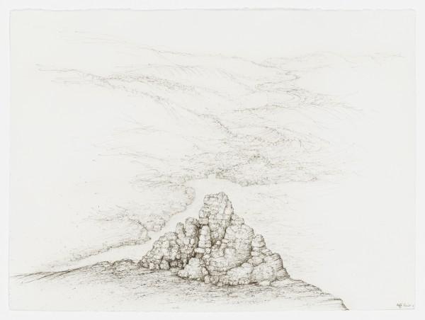 Raffi Kaiser, #021664 Landschaft, um 2017