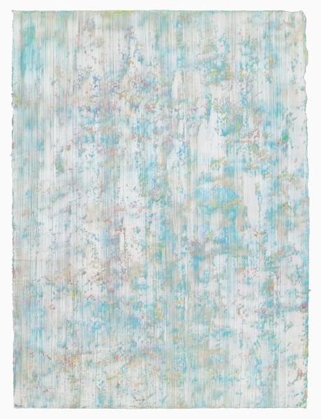 Yuko Sakurai #021578 9:19. Tokyo, Japan, 2015 Pastell und Öl auf japanischem Yokono-Papier 75,0 x 55,5 cm