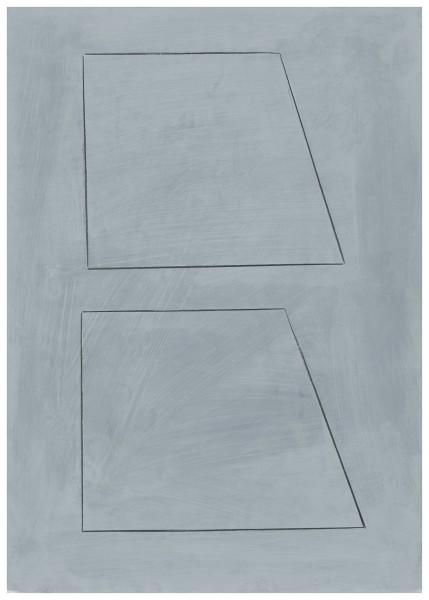 Jürgen Schön #022142 Zeichnung, 2020 Bleistift, Farbstift, Acryl auf Papier 60,7 x 42,9 cm