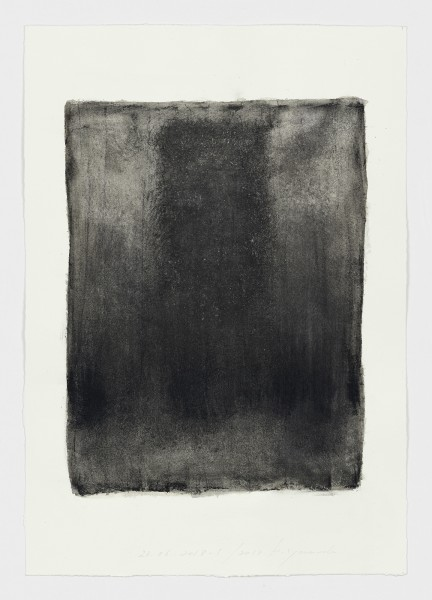 Hideaki Yamanobe #021832 Ohne Titel, 23.06 2018-1, 2018 Tusche auf Büttenpapier 65 x 45,5 cm
