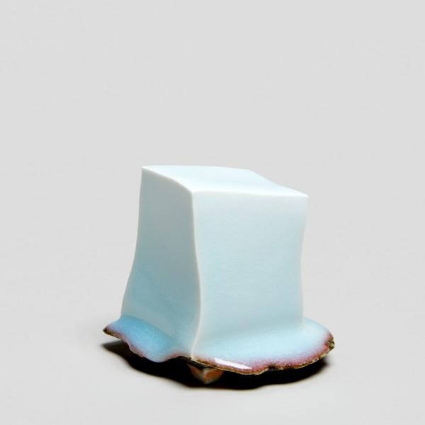 Masamichi Yoshikawa #021953 Shiyokayho (Small luxuriant pottery palace), 2019 Porzellan mit Seihakuji-Glasur 8,5 x 9 x 9 cm