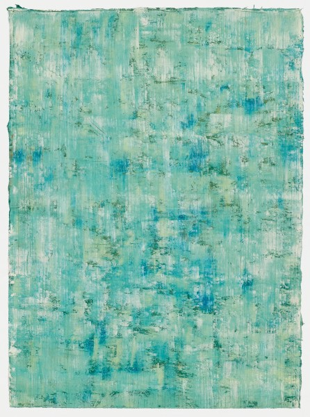 Yuko Sakurai #021577 Daigasen #2, 2017 Aquarell und Öl auf japanischem Yokono-Papier 75,3 x 55,2 cm