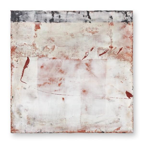 Hideaki Yamanobe #022218 Square Garden 2020-5, 2020 Acryl auf Papier auf Holz 35,5 x 35,5 x 5,2 cm