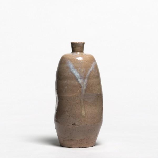 Keramik, #011593 Tokkuri - Sakeflasche, Seto, Ende Edo (1615-1868)