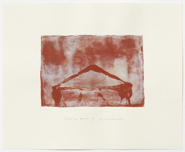 Hideaki Yamanobe #022226 Drawing 2020-9, 2020 Acryl auf Papier Motiv: ca 18,5 x 26 cm; Blatt: 38 x 46,4 cm