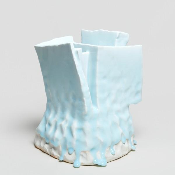Masamichi Yoshikawa #021945 Kayho (Luxuriant pottery palace), 2019 Porzellan mit Seihakuji-Glasur 26,5 x 22 x 21,5 cm