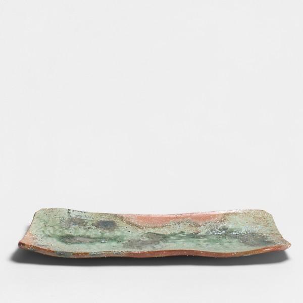 Shiro Tsujimura, #008811 Platte (Iga manaita-zara), Iga-Stil , 1999