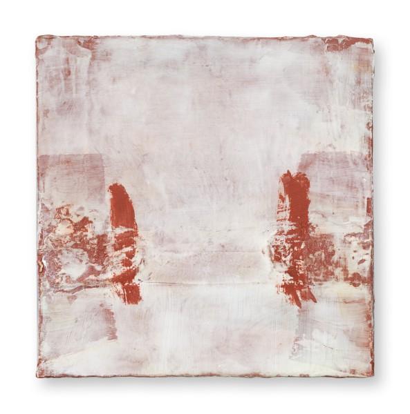 Hideaki Yamanobe #022220 Square Garden 2020-2, 2020 Acryl auf Holz 24,2 x 24,2 x 5 cm