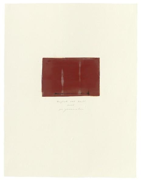 Hideaki Yamanobe, #015071 English red No. 21, 2005