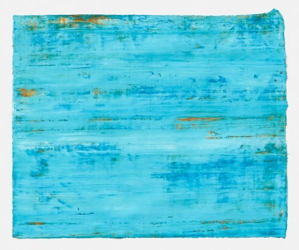 Yuko Sakurai #021584 Colline Aventinus #1, 2015 Pastell und Öl auf japanischem Yokono-Papier 22,5 x 27,5 cm