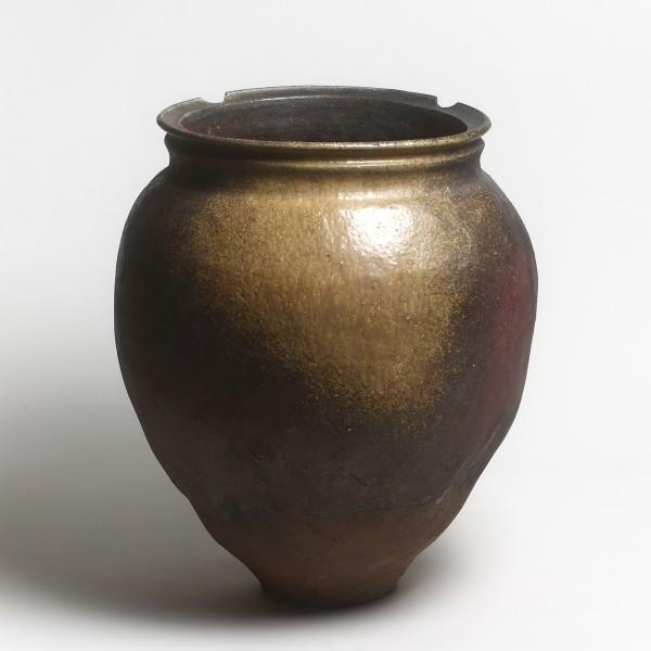 Keramik, #000153 Mizugame - Vorratstopf für Wasser, Tokoname, Muromachi / Momoyama-Zeit, 16. Jh.