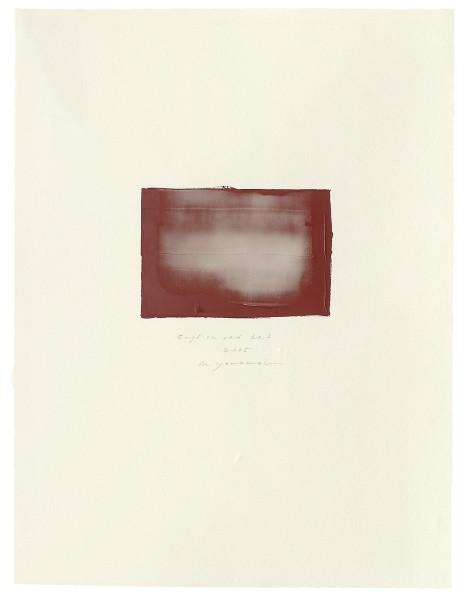 Hideaki Yamanobe, #015053 English red No. 3, 2005