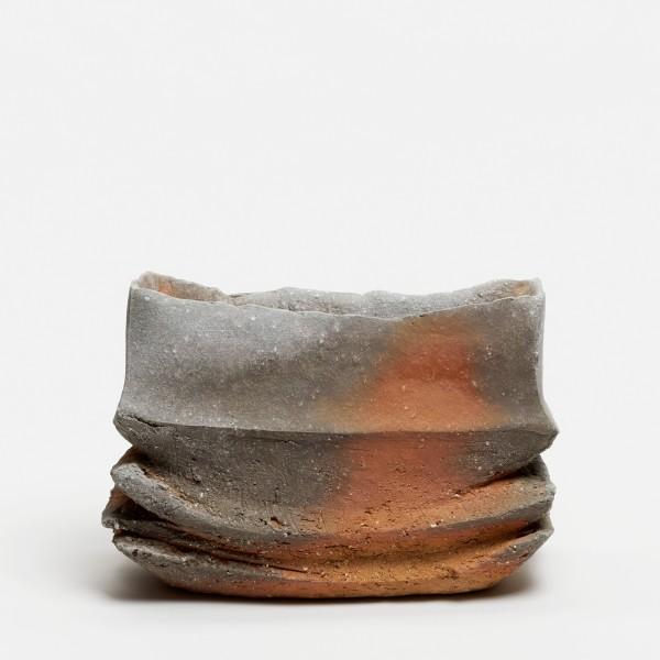 Yasuhisa Kohyama #022072 Danpen (Fragment), Vase, 2016 Steinzeug, Anagama-Brand 18,5 x 25 x 10 cm