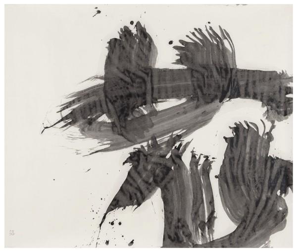 YU-ICHI (Inoue Yûichi) #021653 Hana (Blume), 1968 Tusche auf Papier 124 × 145 cm