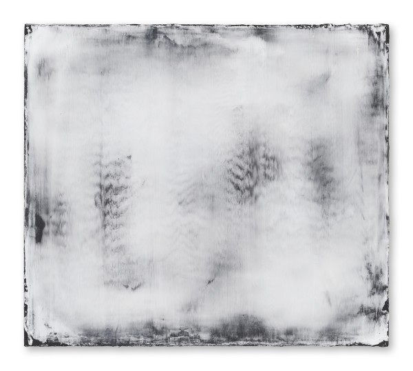 Hideaki Yamanobe #021816 Stratus 2015 works No. 5, 2015 Acrylic on nettle 75,5 x 85 x 4 cm