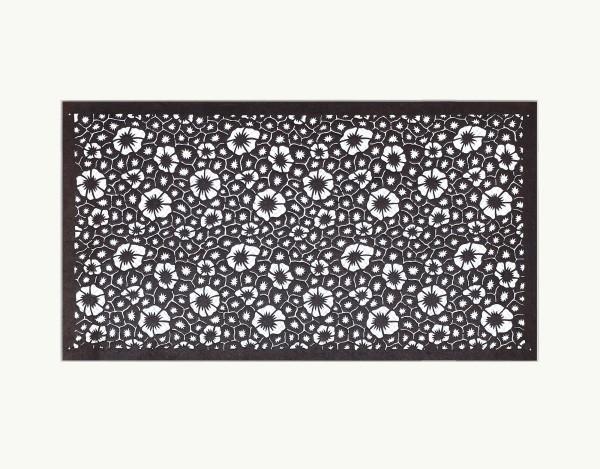 Mingei, #016742 Katagami (Textilfärbeschablone), Japan, Späte Edo-Zeit / Meiji-Zeit (2. H. 19. Jh. / Anfang 20. Jh.)