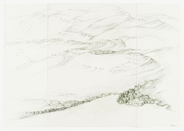 Raffi Kaiser, #021676 Landschaft, um 2017